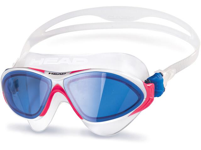 Head Horizon Masker, wit/blauw